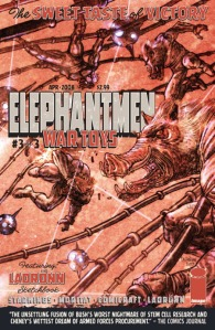 Elephantmen War Toys 3 of 3 variant cover